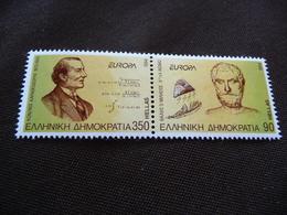 TIMBRES  EUROPA  1994     GRECE     N  1837  /  1838    COTE  6,00  EUROS   NEUFS  LUXE** - 1994