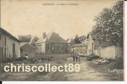 Carte Postale : Xonville - La Ferme Et Le Château - Altri Comuni