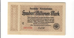 GERMANY Germania 100000000 MARK 1923   LOTTO 1906 - [ 2] 1871-1918 : German Empire