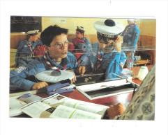 Double Cpm Scouts De France - PARIS - Garçons Beret  Pompon Guichet Gare - Pièce Monnaie Stylo - Photo J P Pouteau - Scouting