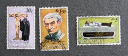 ILE MAURICE - MAURITIUS - 1979 - YT 487 à 489 - FATHER J.D LAVAL - Mauritius (1968-...)
