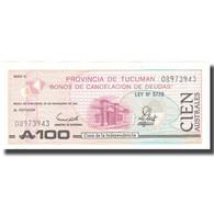 Billet, Argentine, 100 Australes, 1991, 1991-11-30, KM:S2715, SUP - Argentine