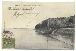 33-BLAYE-La Citadelle - Les Bords De La Gironde...1918 - Blaye