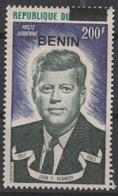 "Bénin 1994 Mi. 611 John Fitzgerald Kennedy US USA President ""BENIN"" Surchargé Overprint MNH** - Bénin – Dahomey (1960-...)"