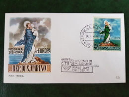 (38915) F.D.C. SAN MARINO 1966 - FDC