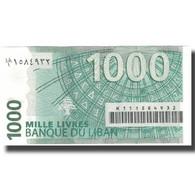Billet, Lebanon, 1000 Livres, 2008, 2008, KM:84b, SUP+ - Liban