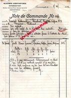 87- SAINT JUNIEN- GANTERIE VERGNIAUD RATINAUD-TURQUIE WLADIMIR CONSTANTINIDI-CONSTANTINOPLE-FRANGUL KABARADJIAN STAMBOUL - Factures & Documents Commerciaux
