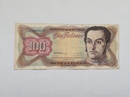 VENEZUELA 100 BOLIVARES 1992 - Venezuela