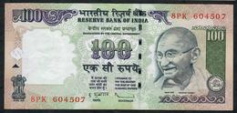 INDIA INDE P98h1 100  RUPEES  2011 #8PK Sign.20 NO LETTER  VF  NO P.h. ! ! - India