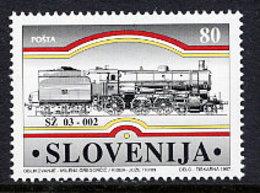 SLOVENIA 1997 Trieste Railway   MNH / **.  Michel 188 - Slovénie