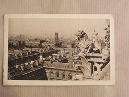 PARIS Cathédrale Notre-Dame De Paris Chimères CPA Carte Postale France - Notre Dame De Paris