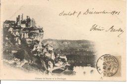 L120B_181 - Château De Beynac Et La Dordogne - Carte Précurseur - France