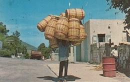 CPSMPF (HAITI) , Marchande De Paniers - Postcards
