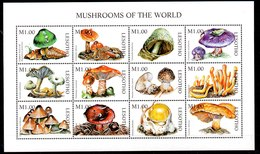 Serie De Lesotho N ºYvert 1297/08 ** SETAS (MUSHROOMS) - Lesotho (1966-...)