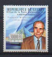 GUINEA. FRANÇOIS MITTERRAND. MNH (5R0218) - Célébrités