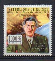 GUINEA. CHARLES DE GAULLE. MNH (5R0220) - Célébrités