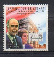 GUINEA. FRANÇOISE GIROUD. MNH (5R0221) - Célébrités