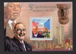 GUINEA. JACQUES CHIRAC. MNH (5R0250) - Célébrités