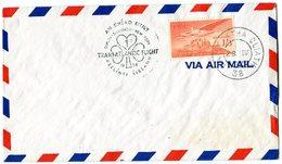 IRELAND 1958 TRANSATLANTIC FLIGHT DUBLIN-NEW YORK.BARGAIN.!! - Luchtpost