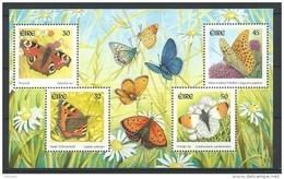 Irlande 2000 Bloc  N°37 Neuf Papillons - Blocs-feuillets