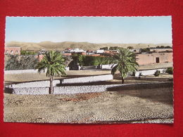 "MAURITANIE - ATAR - "" LA NOUVELLE CITE DE AGHNEMRIT ""- CARTE COLORISEE -  /// RARE  /// - Mauritania"