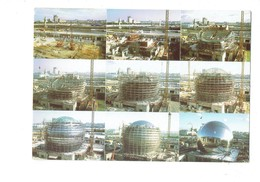 Cpm 75 - PARIS - Musée De La Villette Sciences Géode En Construction Travaux échafaudage Grue - 1984 - France