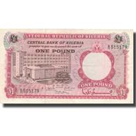 Billet, Nigéria, 1 Pound, Undated (1967), KM:8, TTB - Nigeria