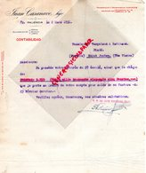 87- SAINT JUNIEN-ESPAGNE- PALENCIA- JUAN CASANAVE HIJO-VERGNIAUD RATINAUD GANTERIE 1931 - España