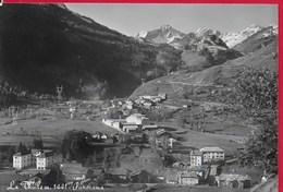 CARTOLINA VG ITALIA - LA THUILE (AO) - Panorama - 10 X 15 - ANN. 1961 - Italia