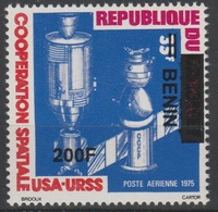 Bénin 2008/2009 Mi. 1520 USA - URSS Coopération Spatiale Space Raumfahrt 200F Surchargé Overprint MNH** - Bénin – Dahomey (1960-...)