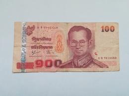 TAILANDIA 100 BATH - Thailand