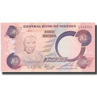 Billet, Nigéria, 5 Naira, Undated (1979-84), KM:20c, SUP+ - Nigeria