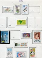 12899 BRESIL Collection Vendue Par Page N° 859A/61, 865, 868 - 874  (*)/ */  °  1968  B/TB - Brazil