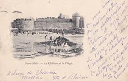 SAINT-MALO // Le Chateau Et La Plage - Saint Malo