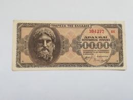 GRECIA 500000 DRACHMAI 1944 - Greece