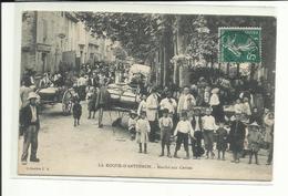 Cpa La Roque-d'Anthéron, Marché Aux Cerises,, Voyagée  (tous Frais + 1,40 - France