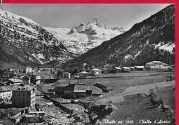 CARTOLINA VG ITALIA - LA THUILE (AO) - Panorama - Valle D'Aosta - 10 X 15 - ANN. 1949 - Italia