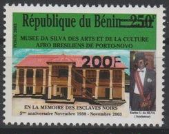 Bénin 2007 Mi. 1407 Musée Da Silva Des Arts Afro Brésiliens De Porto Novo Surchargé Overprint MNH** - Bénin – Dahomey (1960-...)