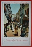 SPAIN - SEVILLA - CALLE SIERPES - ADVERTISING VINO DI SERRAVALLO TRIESTE - Sevilla
