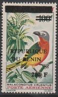 Bénin 2008/2009 Mi. 1530 Malaconotus Cruentus Oiseau Bird Vogel Faune Fauna Surchargé Overprint MNH** - Bénin – Dahomey (1960-...)