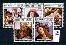 BURKINA -FASO -  Year 1985 - Timbrati - Stamped - Affranchiè - Gestempelt. - Yemen