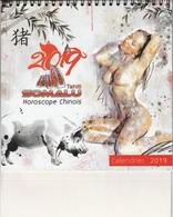 Polynésie Française / Tahiti - Calendrier 2019 - Filles Nues (publicité SOMALU) - Neuf - Grand Format : 2001-...