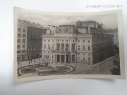 D163800  Slovakia  Bratislava Mestske Divadlo - Theatre - Cancel LUBY 1947 - Slovakia