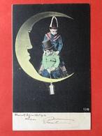 1904 - SURREALISME - KINDEREN OP DE MAAN - ENFANTS SUR LA LUNE - Cartes Humoristiques