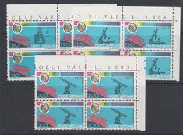 Vatican City 1978 Angelo Secchi 3v (bl Of 4 (corner) ** Mnh (42789B) - Ongebruikt