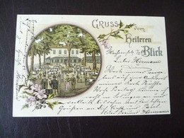Gruss Vom Heiteren Blick Litho Weissenfels ? 1899 - Weissenfels