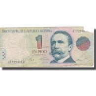 Billet, Argentine, 1 Peso, 1992, 1992, KM:339a, B - Argentine