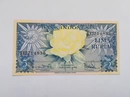 INDONESIA 5 RUPIAH 1959 - Indonesia