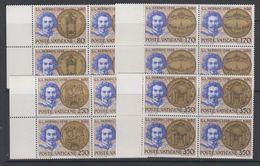 Vatican City 1980 G.L. Bernini 4v Bl Of 4 ** Mnh (30941) - Maximumkaarten