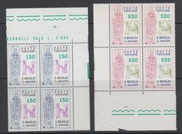 Vatican City 1979 S. Basilio 2v Bl Of 4 (corners) ** Mnh (42789C) - Vaticaanstad